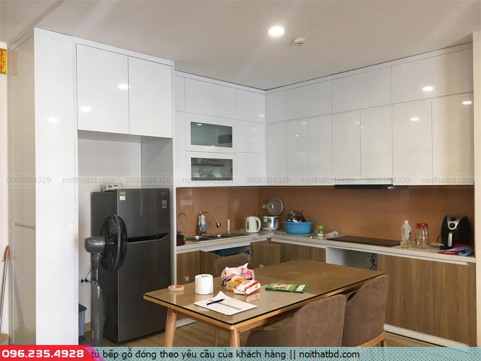 6 loại tủ bếp gỗ đóng theo yêu cầu của khách hàng