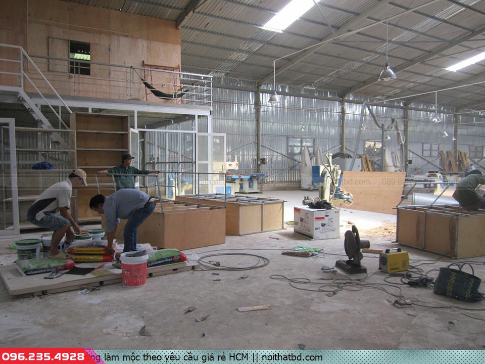 Xưởng làm mộc theo yêu cầu giá rẻ HCM