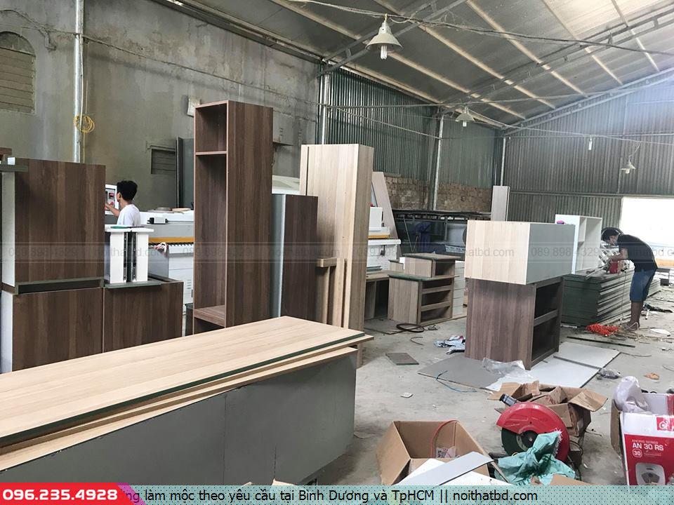 Xưởng làm mộc theo yêu cầu tại Bình Dương và TpHCM