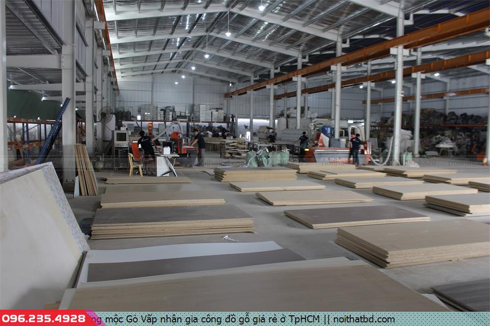 Xưởng mộc Gò Vấp nhận gia công đồ gỗ giá rẻ ở TpHCM