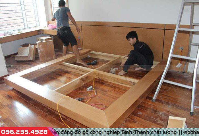 Chuyên đóng đồ gỗ công nghiệp Bình Thạnh chất lượng