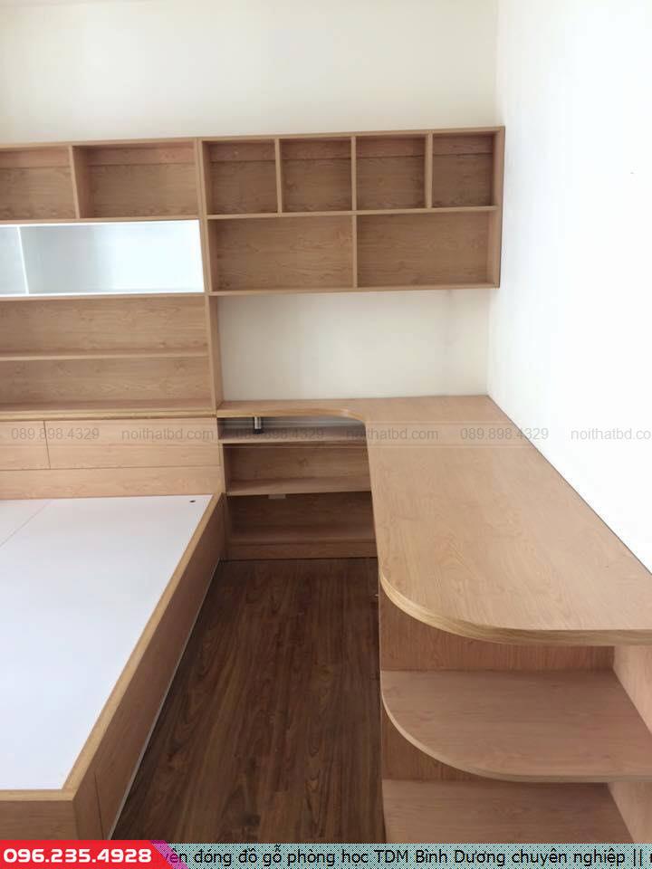 Chuyên đóng đồ gỗ phòng học TDM Bình Dương chuyên nghiệp