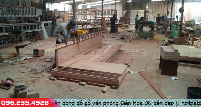 Chuyên đóng đồ gỗ văn phòng Biên Hòa ĐN bền đẹp