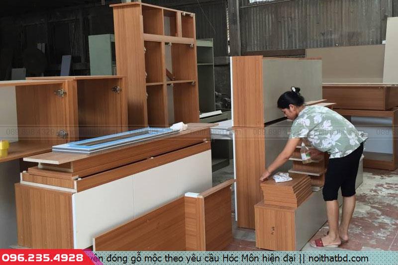 Chuyên đóng gỗ mộc theo yêu cầu Hóc Môn hiện đại