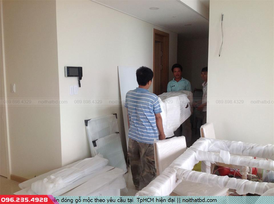 Chuyên đóng gỗ mộc theo yêu cầu tại  TpHCM hiện đại