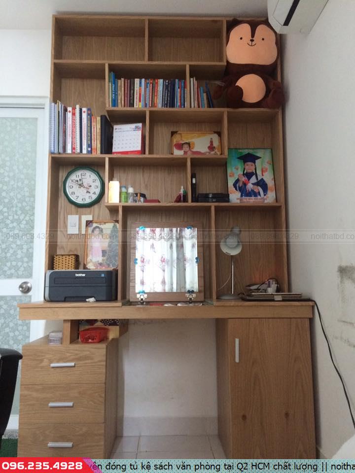 Chuyên đóng tủ kệ sách văn phòng tại Q2 HCM chất lượng