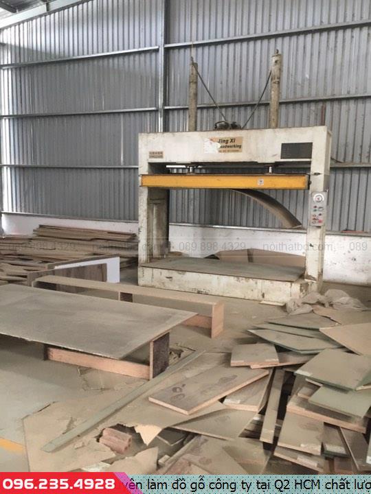 Chuyên làm đồ gỗ công ty tại Q2 HCM chất lượng