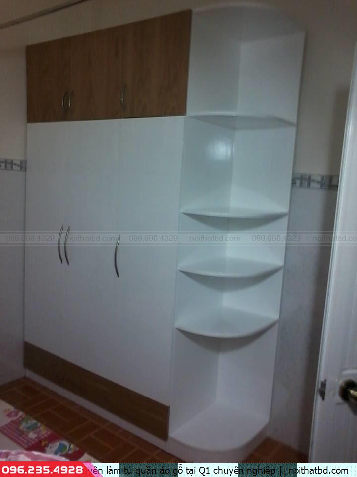 Chuyên làm tủ quần áo gỗ tại Q1 chuyên nghiệp