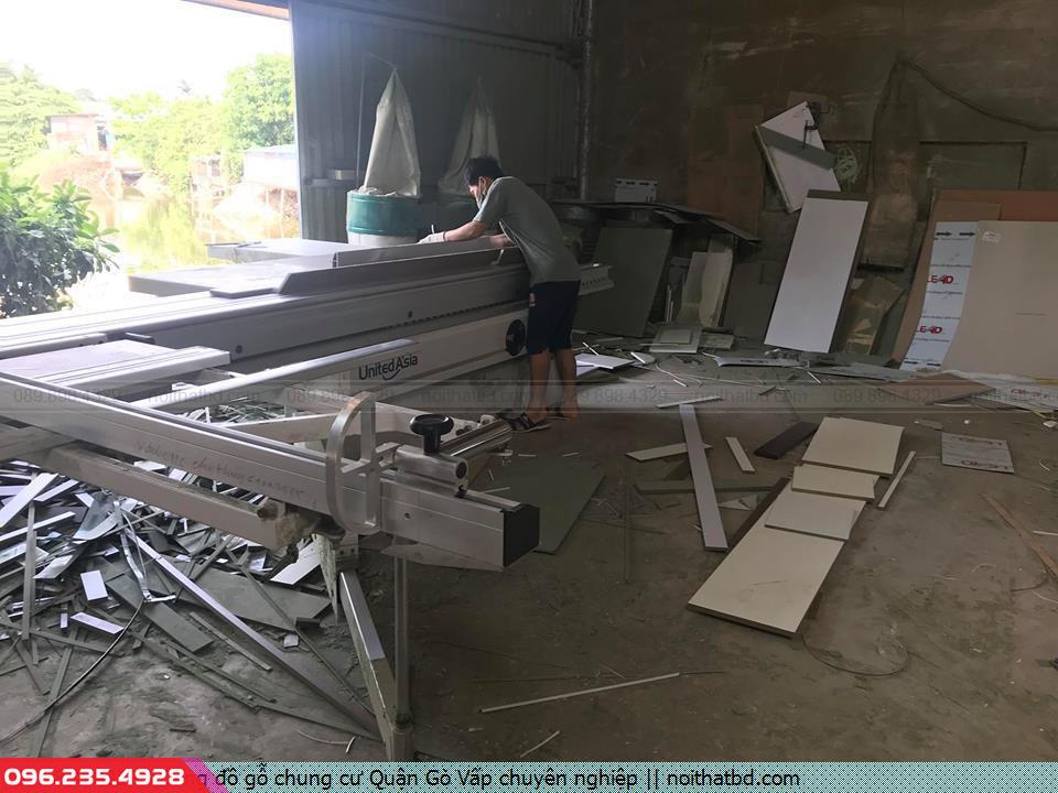 Đóng đồ gỗ chung cư Quận Gò Vấp chuyên nghiệp