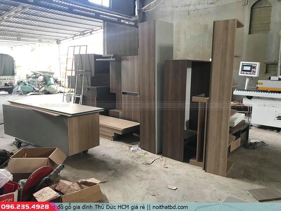 Đóng đồ gỗ gia đình Thủ Đức HCM giá rẻ