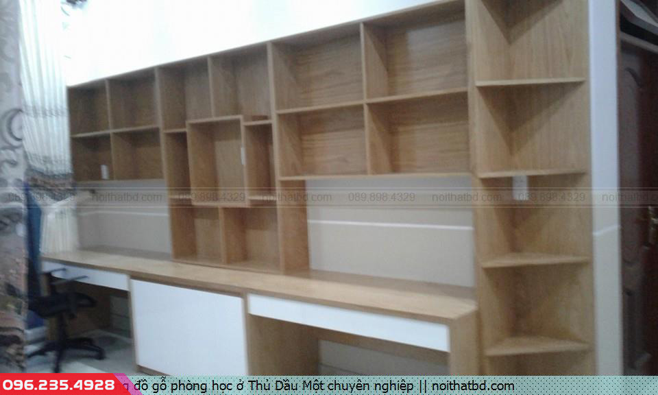 Đóng đồ gỗ phòng học ở Thủ Dầu Một chuyên nghiệp