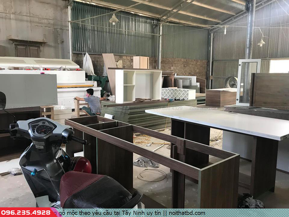 Đóng gỗ mộc theo yêu cầu tại Tây Ninh uy tín