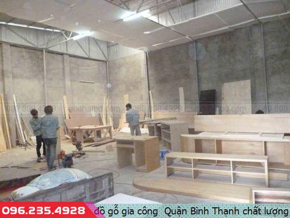 Làm đồ gỗ gia công  Quận Bình Thạnh chất lượng
