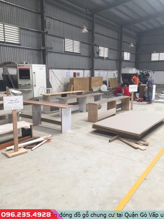 Nhận đóng đồ gỗ chung cư tại Quận Gò Vấp uy tín