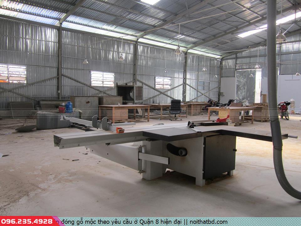 Nhận đóng gỗ mộc theo yêu cầu ở Quận 8 hiện đại