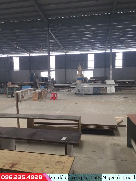 Nhận làm đồ gỗ công ty  TpHCM giá rẻ
