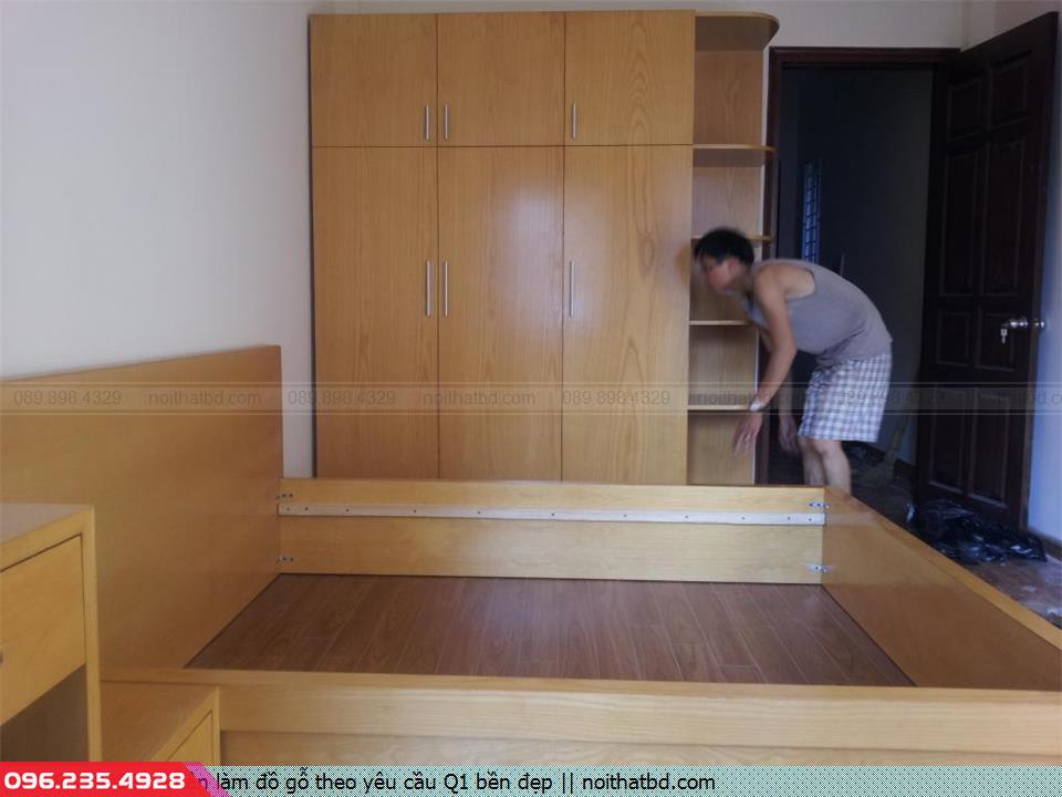 Nhận làm đồ gỗ theo yêu cầu Q1 bền đẹp