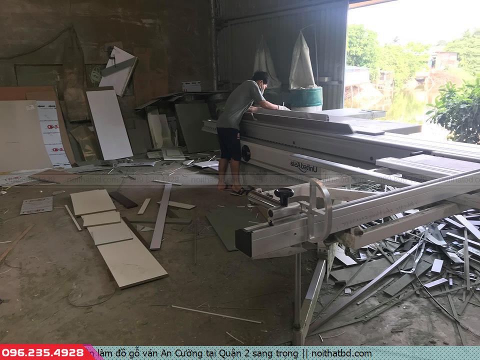 Nhận làm đồ gỗ ván An Cường tại Quận 2 sang trọng