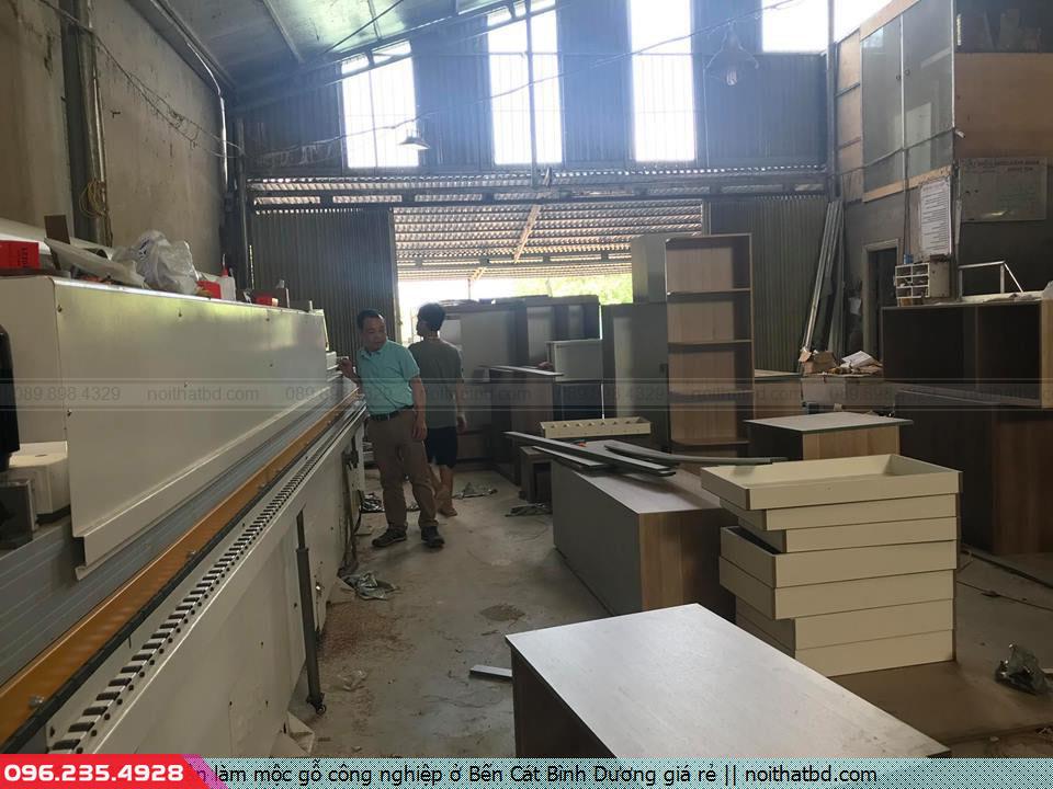 Nhận làm mộc gỗ công nghiệp ở Bến Cát Bình Dương giá rẻ