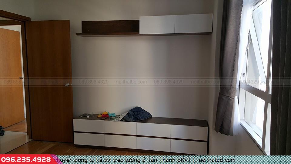 Nơi chuyên đóng tủ kệ tivi treo tường ở Tân Thành BRVT