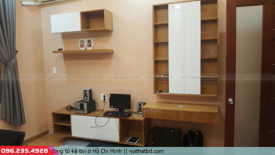 Nơi đóng tủ kệ tivi ở Hồ Chí Minh