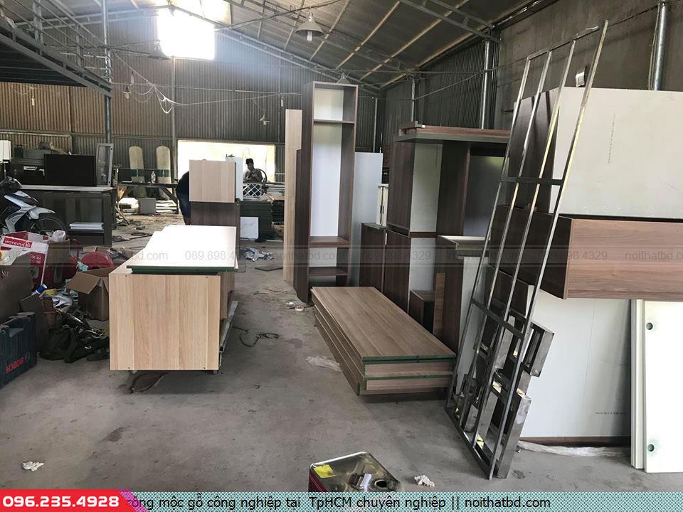Thi công mộc gỗ công nghiệp tại  TpHCM chuyên nghiệp