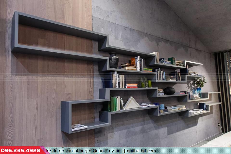 Thiết kế đồ gỗ văn phòng ở Quận 7 uy tín