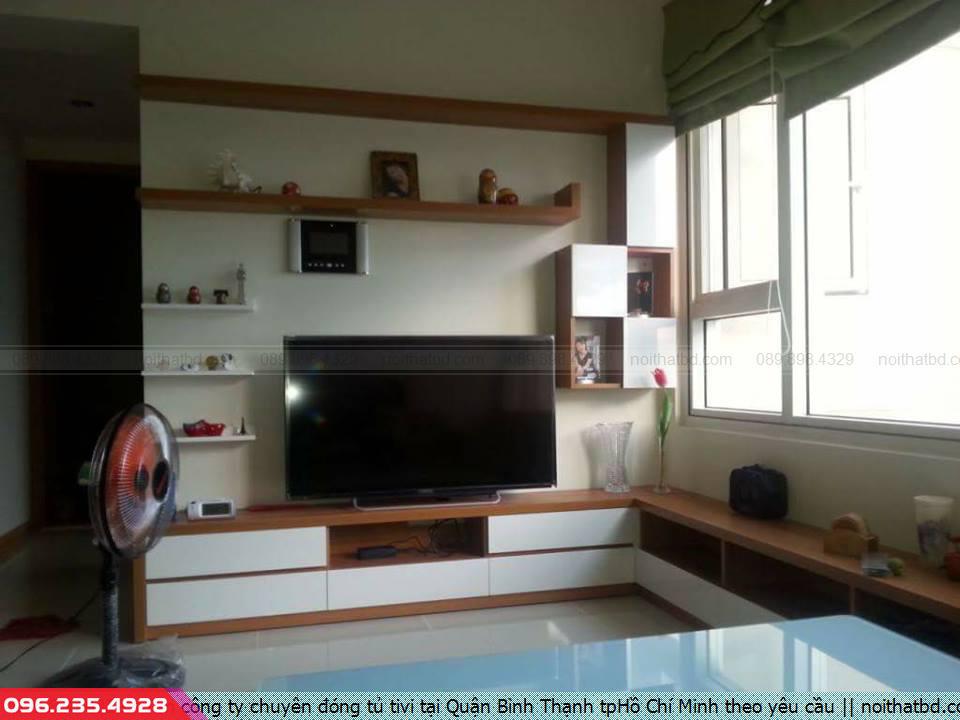 Tìm công ty chuyên đóng tủ tivi tại Quận Bình Thạnh tpHồ Chí Minh theo yêu cầu