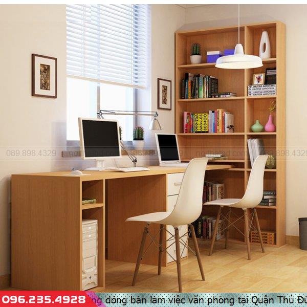 Xưởng đóng bàn làm việc văn phòng tại Quận Thủ Đức tpHCM