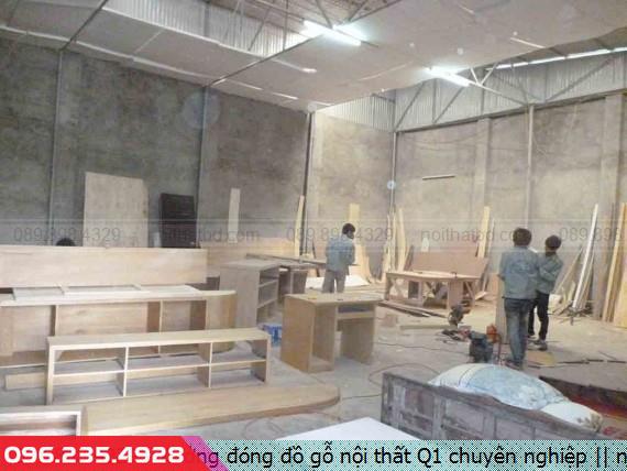 Xưởng đóng đồ gỗ nội thất Q1 chuyên nghiệp