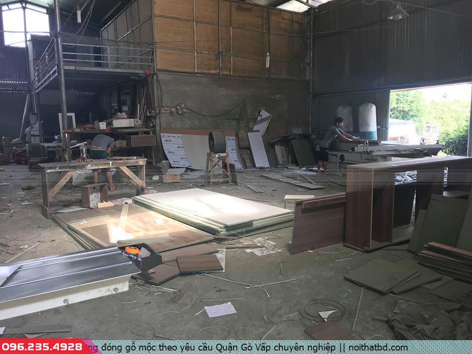 Xưởng đóng gỗ mộc theo yêu cầu Quận Gò Vấp chuyên nghiệp