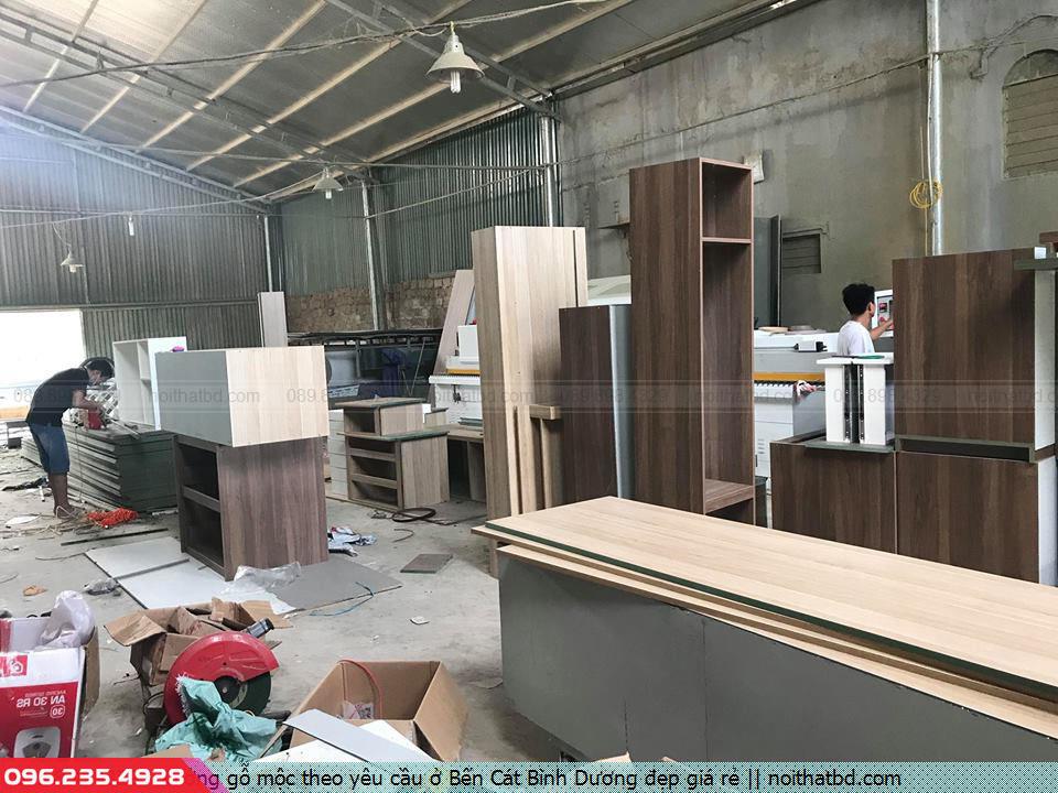 Xưởng gỗ mộc theo yêu cầu ở Bến Cát Bình Dương đẹp giá rẻ