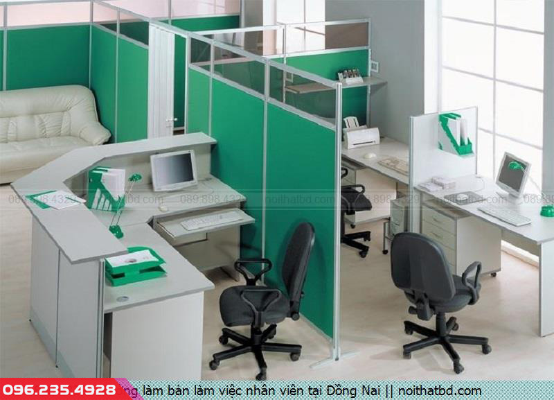 Xưởng làm bàn làm việc nhân viên tại Đồng Nai