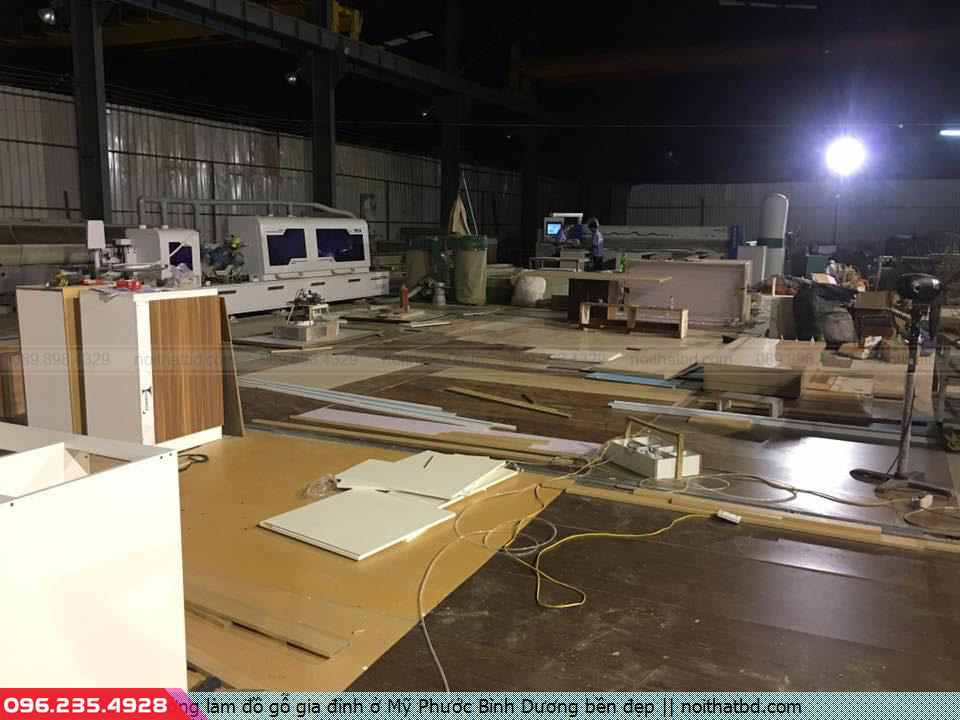 Xưởng làm đồ gỗ gia đình ở Mỹ Phước Bình Dương bền đẹp