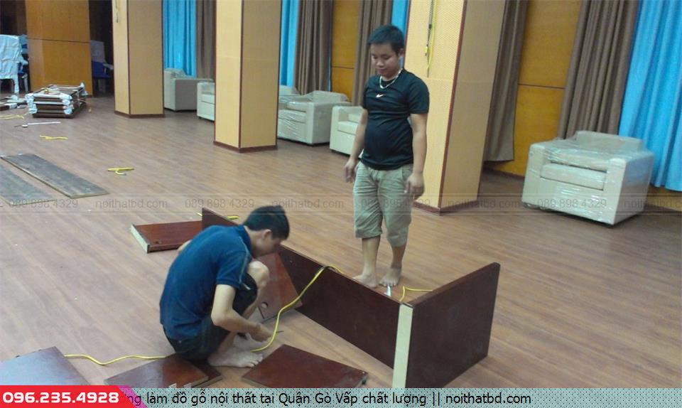 Xưởng làm đồ gỗ nội thất tại Quận Gò Vấp chất lượng