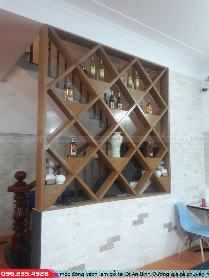 Xưởng mộc đóng vách lam gỗ tại Dĩ An Bình Dương giá rẻ chuyên nghiệp.