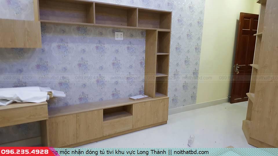 Xưởng mộc nhận đóng tủ tivi khu vực Long Thành