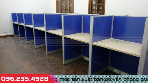 Xưởng mộc sản xuất bàn gỗ văn phòng quận 7 HCM