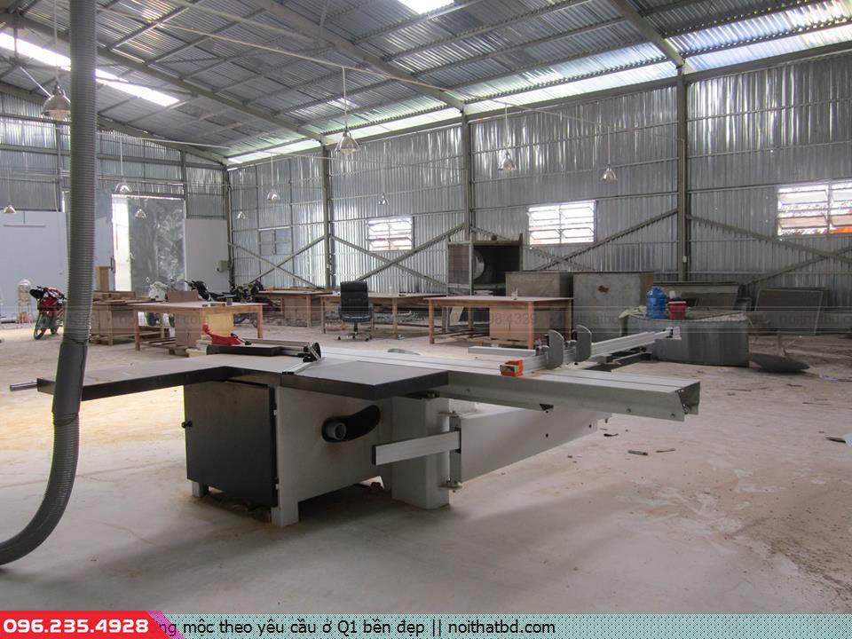 Xưởng mộc theo yêu cầu ở Q1 bền đẹp