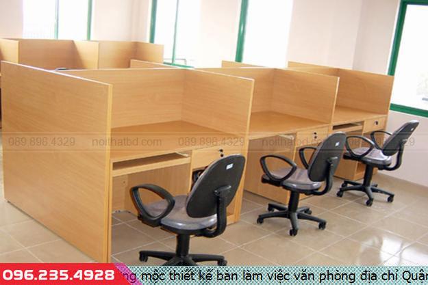 Xưởng mộc thiết kế bàn làm việc văn phòng địa chỉ Quận 6 tpHồ Chí Minh