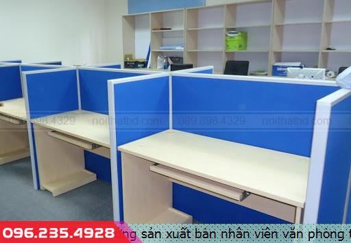 Xưởng sản xuất bàn nhân viên văn phòng tại quận Thủ Đức tpHồ Chí Minh