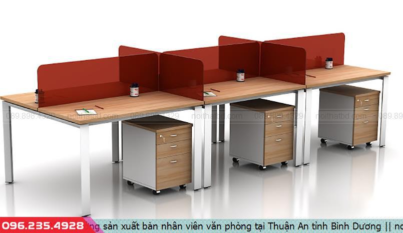 Xưởng sản xuất bàn nhân viên văn phòng tại Thuận An tỉnh Bình Dương