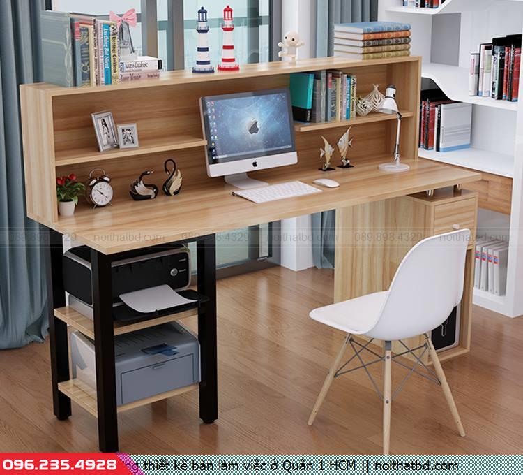 Xưởng thiết kế bàn làm việc ở Quận 1 HCM